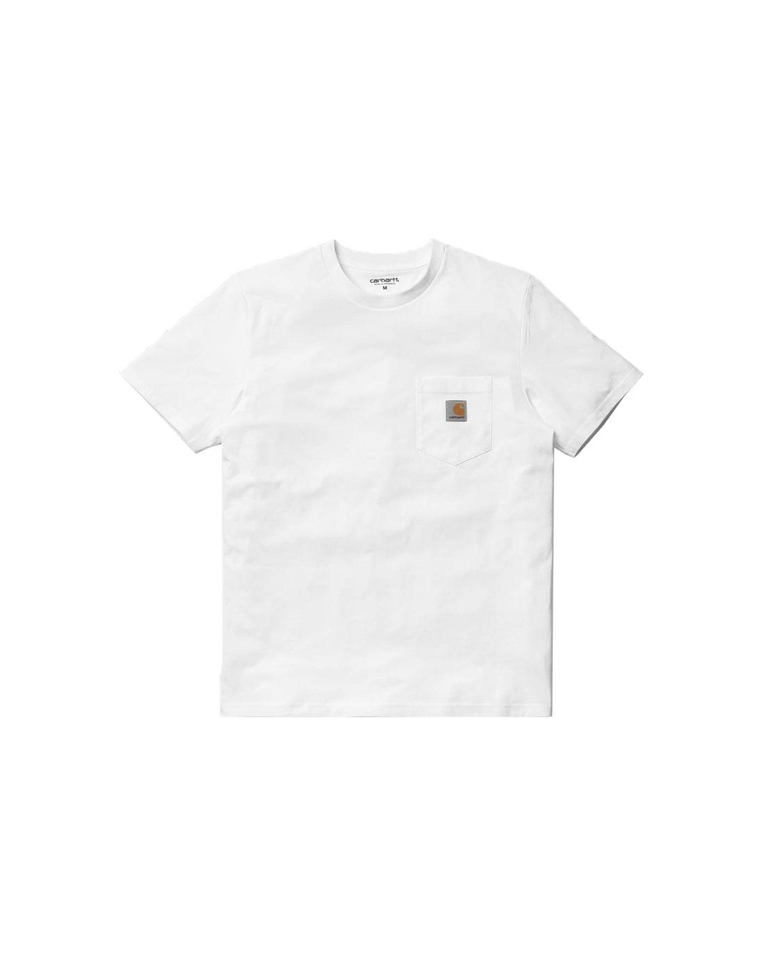 Carhartt WIP Pocket T-Shirt White I022091 - 0200