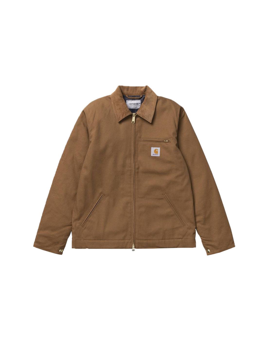 Carhartt WIP Chalk Shirt Jac Rigid Hamilton Brown I025939-HZ01