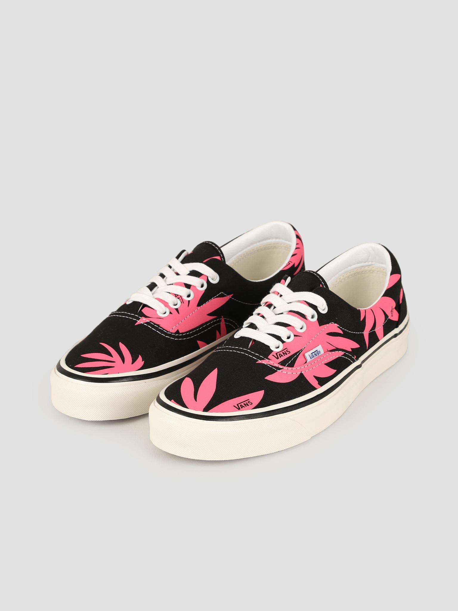 Vans Vans UA Era 95 DX Anaheim Factory OG Black OG Pink Summer Leaf VN0A2RR1VY81