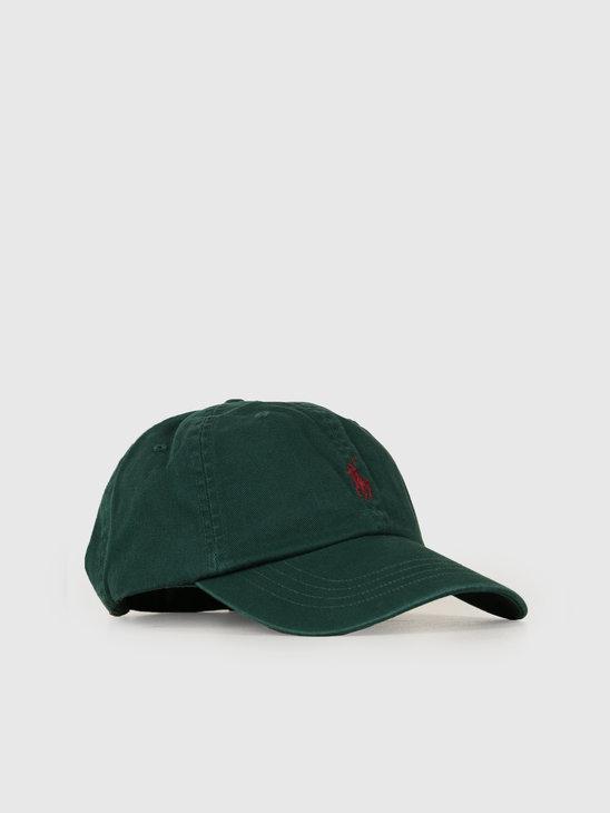 Ralph Lauren Classic Sport Cap Green 710667709031