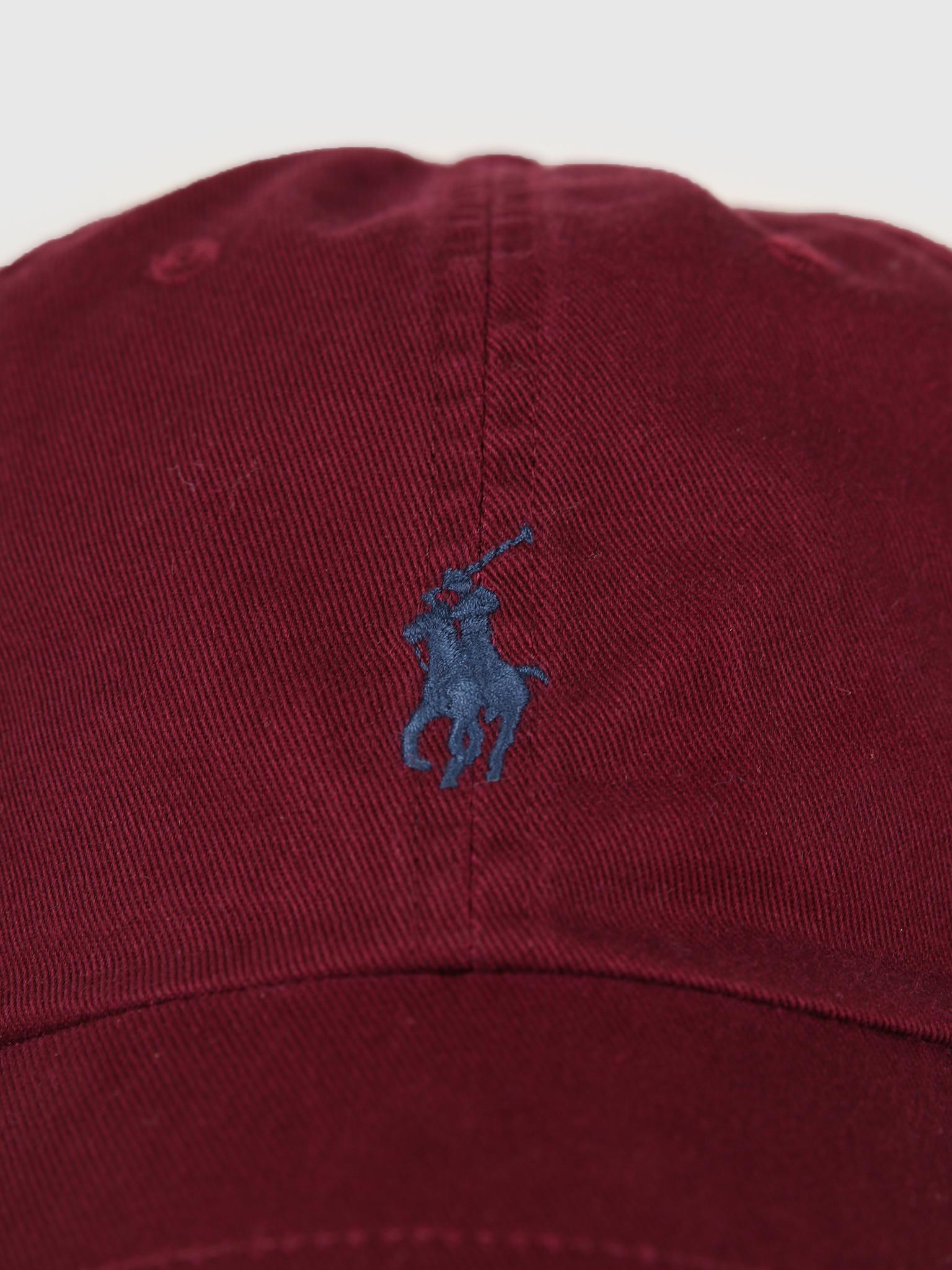 Polo Ralph Lauren Ralph Lauren Classic Sport Cap Red 710667709032