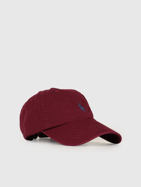 Ralph Lauren Classic Sport Cap Red 710667709032