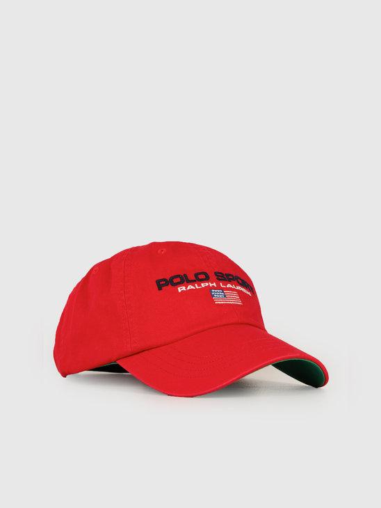 Ralph Lauren Classic Sport Cap Red 710754471001