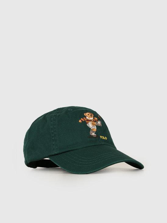 3d48be810 Ralph Lauren Classic Sport Cap W Bear Green 710751109001 ...