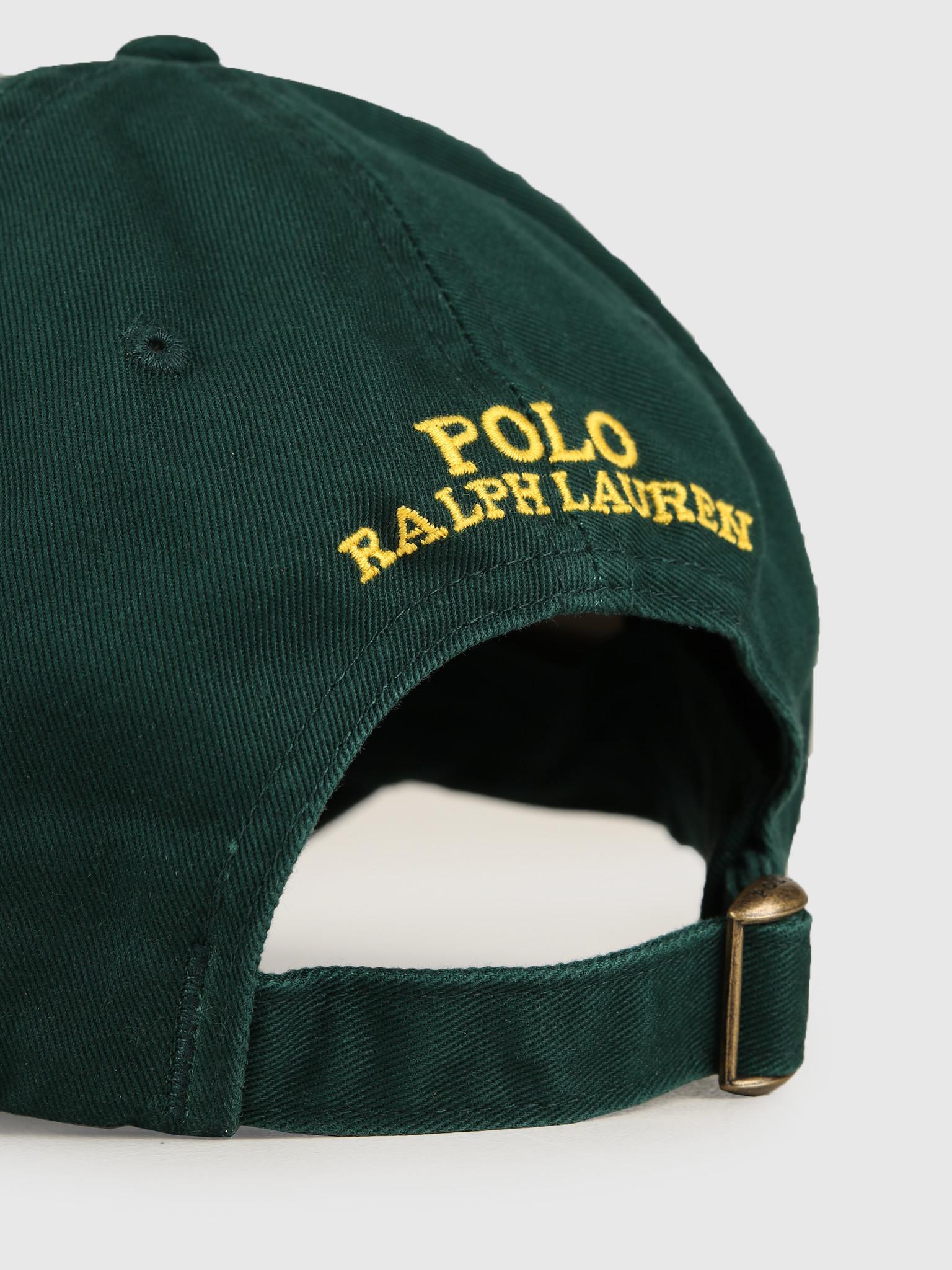 Polo Ralph Lauren Ralph Lauren Classic Sport Cap W  Bear Green 710751109001