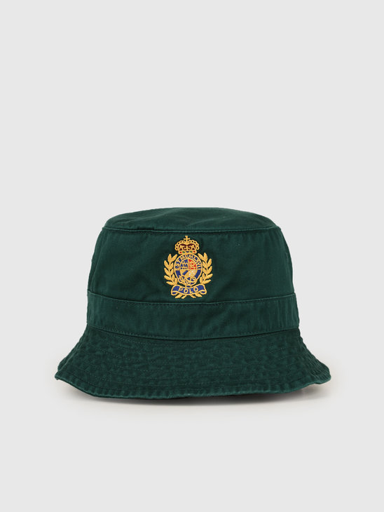 Ralph Lauren Loft Bucket Hat Green 710752314002