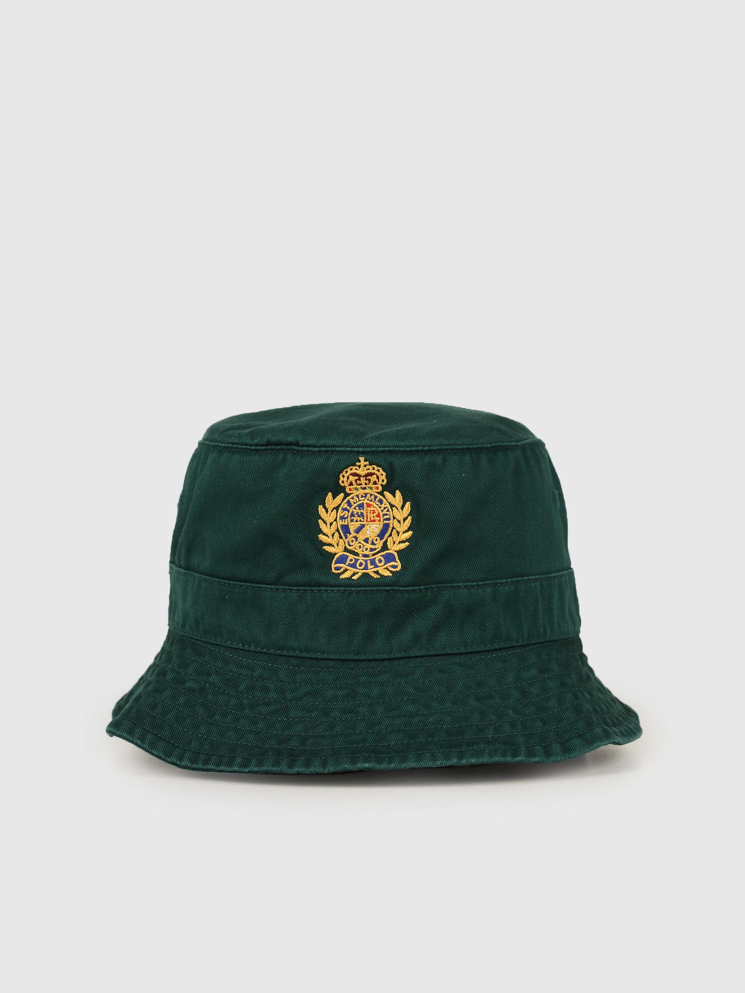 Polo Ralph Lauren Loft Bucket Hat Green 710752314002