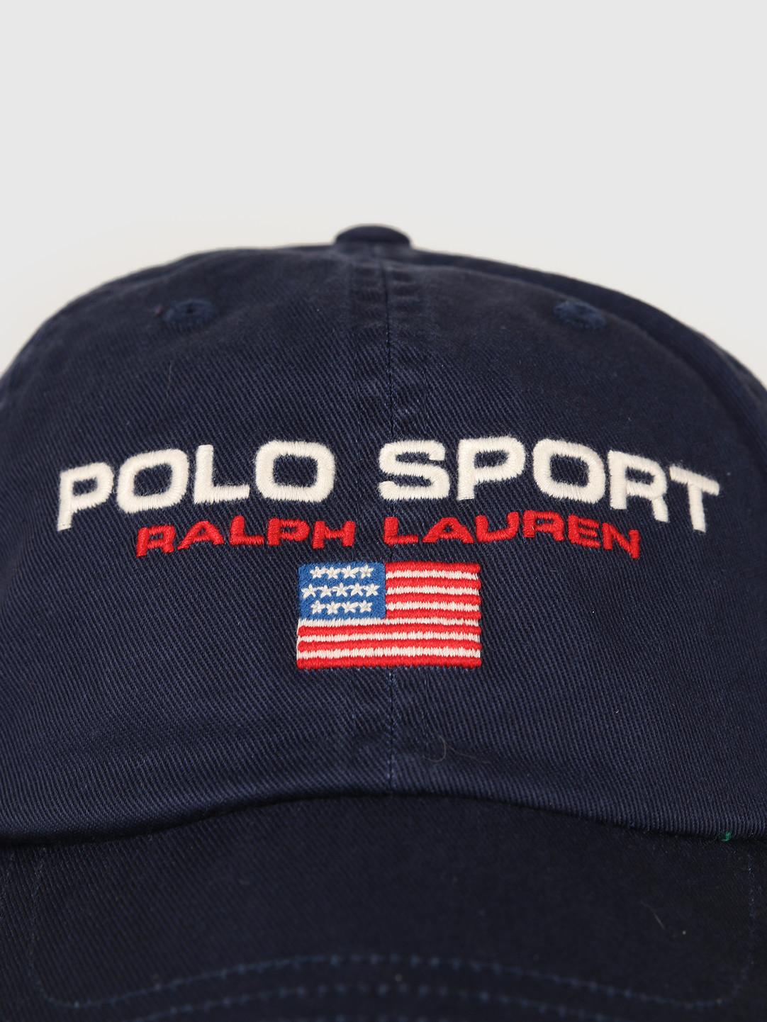 Polo Ralph Lauren Polo Ralph Lauren Classic Sport Cap Navy 710754471003