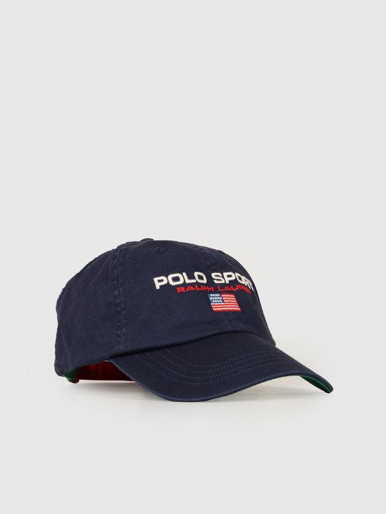 Ralph Lauren Classic Sport Cap Navy 710754471003