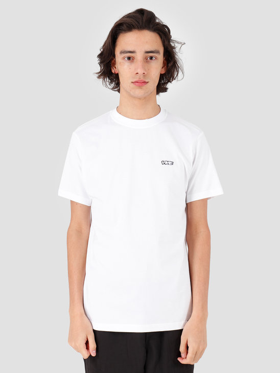 VICE Embroidered Logo T-shirt White