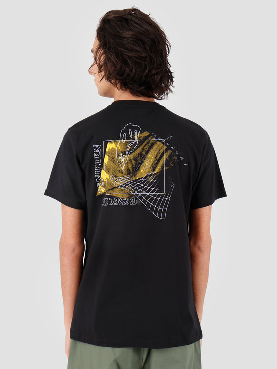 VICE Vreselijk Genieten T-shirt Black Yellow