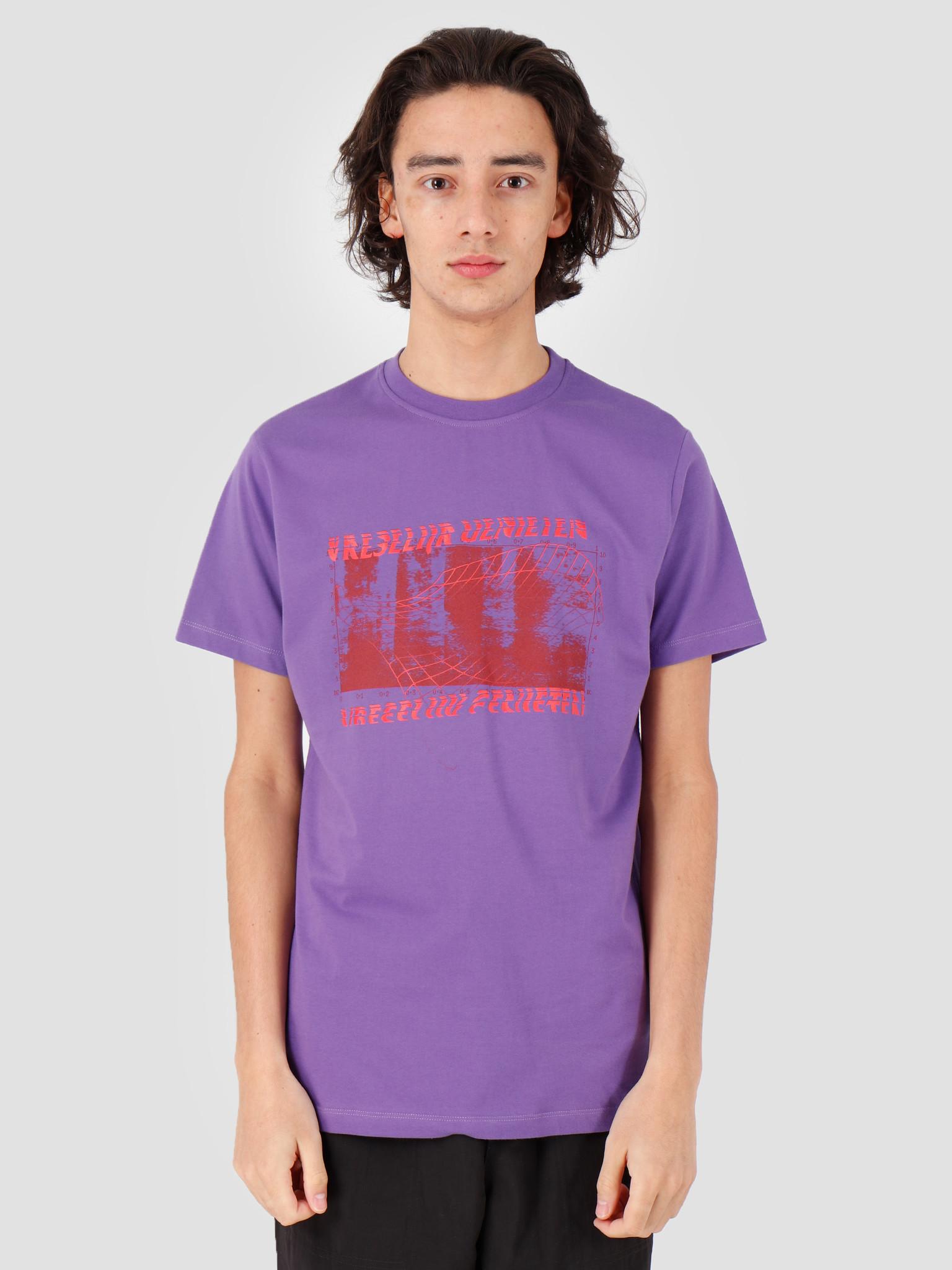 Vice VICE Vreselijk Genieten T-shirt Purple Red