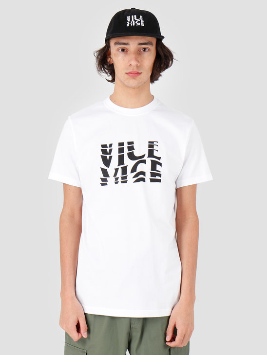 VICE Wave T-shirt White Black