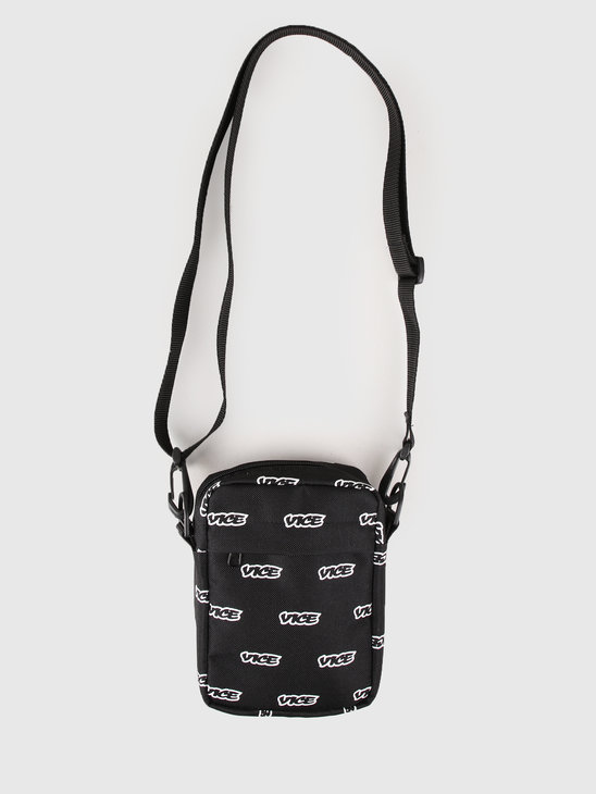 VICE Shoulder Bag Black White