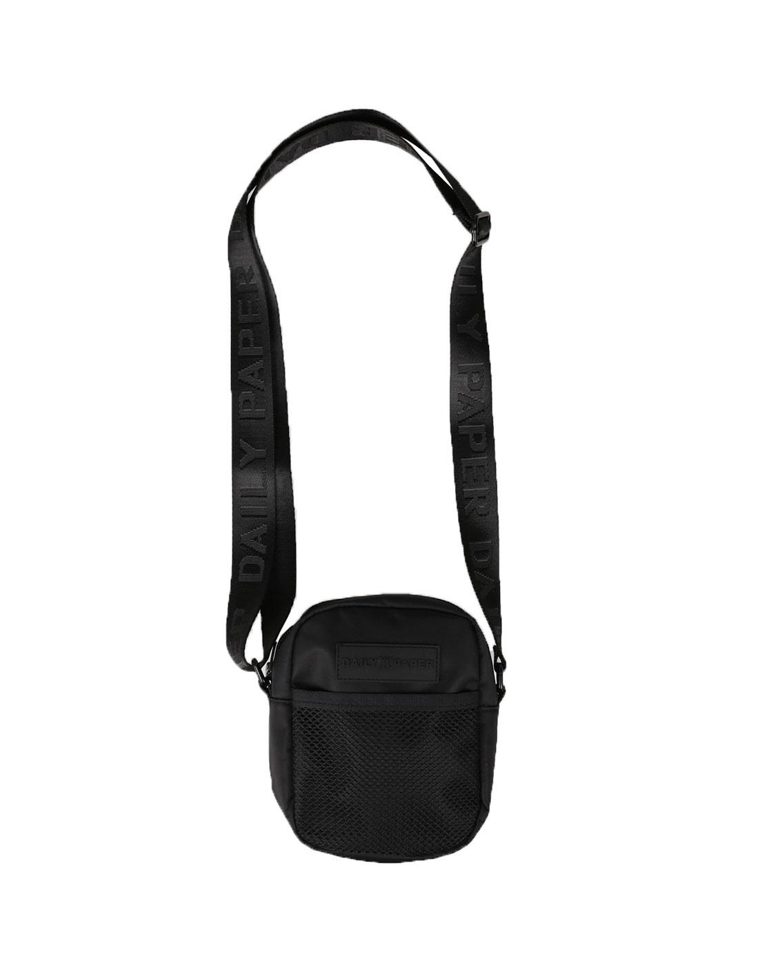 Daily paper shoulder bag black