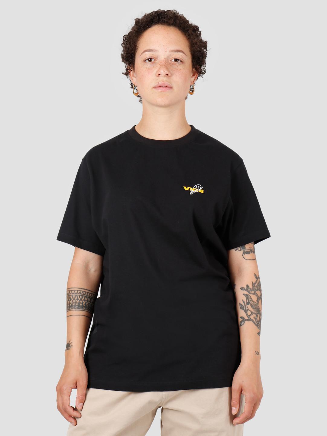 Vice VICE Vreselijk Genieten T-shirt Black Yellow