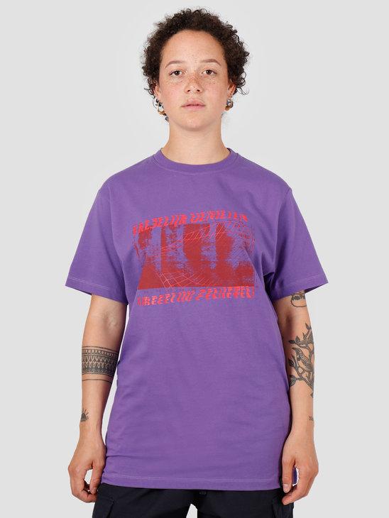 VICE Vreselijk Genieten T-shirt Purple Red
