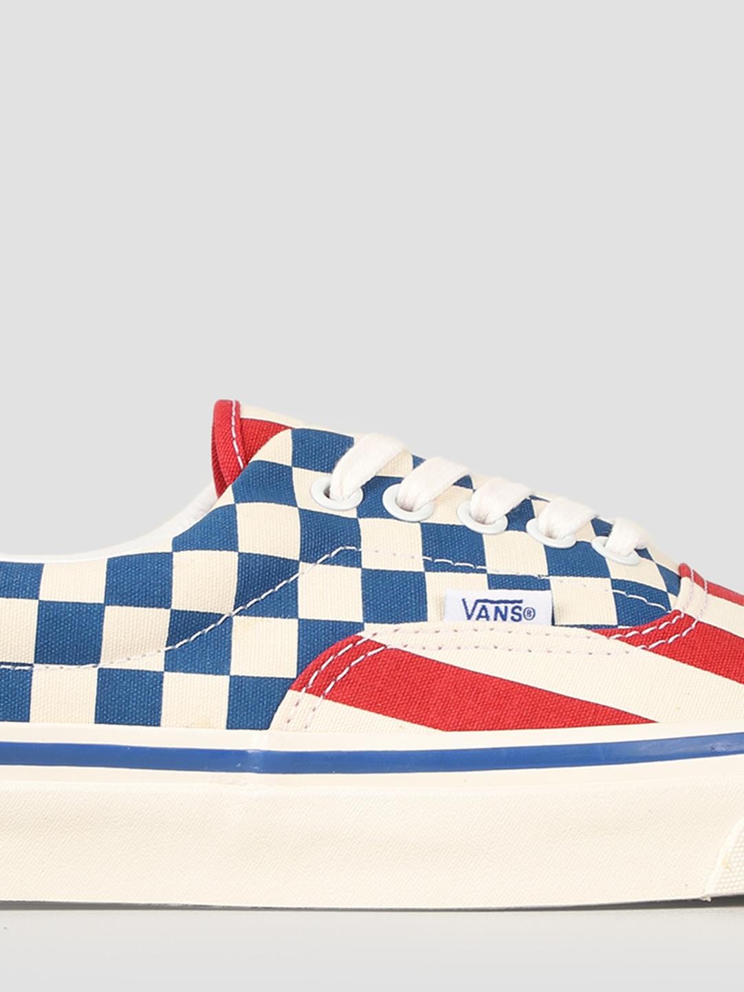 9db5a658ec Vans UA Era 95 DX Anaheim Factory OG Red Stripes OG Blue Check VN0A2RR1VYC1