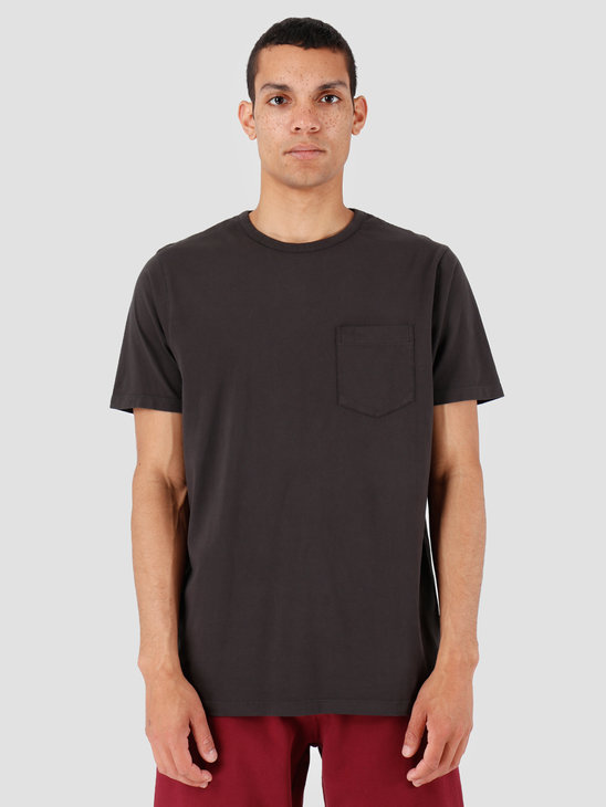 Quality Blanks QB06 Pocket T-shirt Faded Black