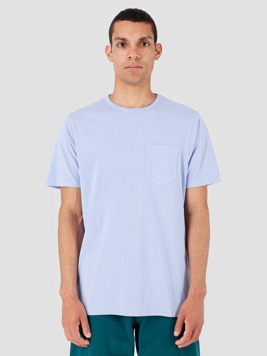 Quality Blanks QB06 Pocket T-shirt Lilac
