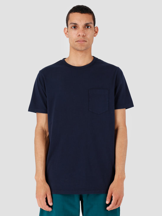 Quality Blanks QB06 Pocket T-shirt Navy