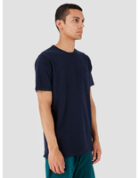 Quality Blanks Quality Blanks QB06 Pocket T-shirt Navy