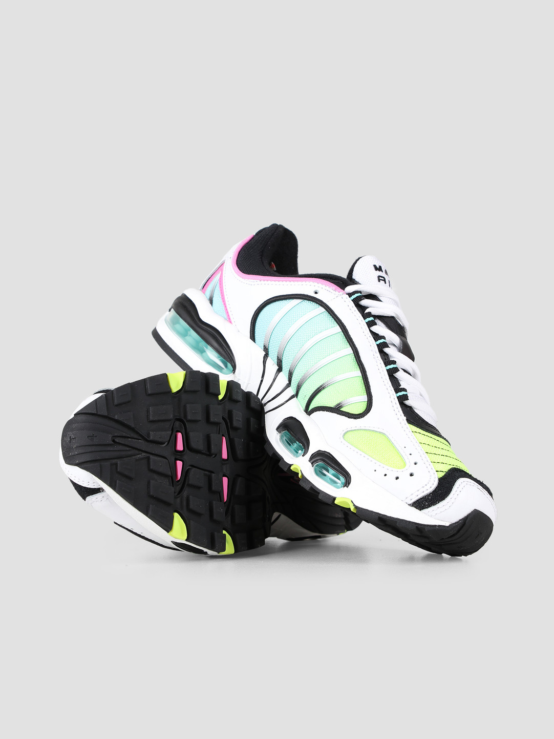 sports shoes c010f f95b2 Nike Air Max Tailwind Iv White Black China Rose Aurora Green AQ2567-103
