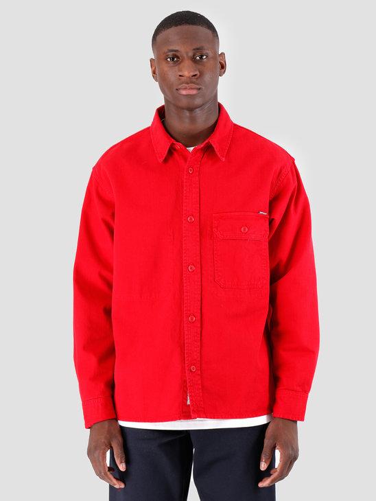 Carhartt WIP Longsleeve Reno Shirt Cardinal I026532