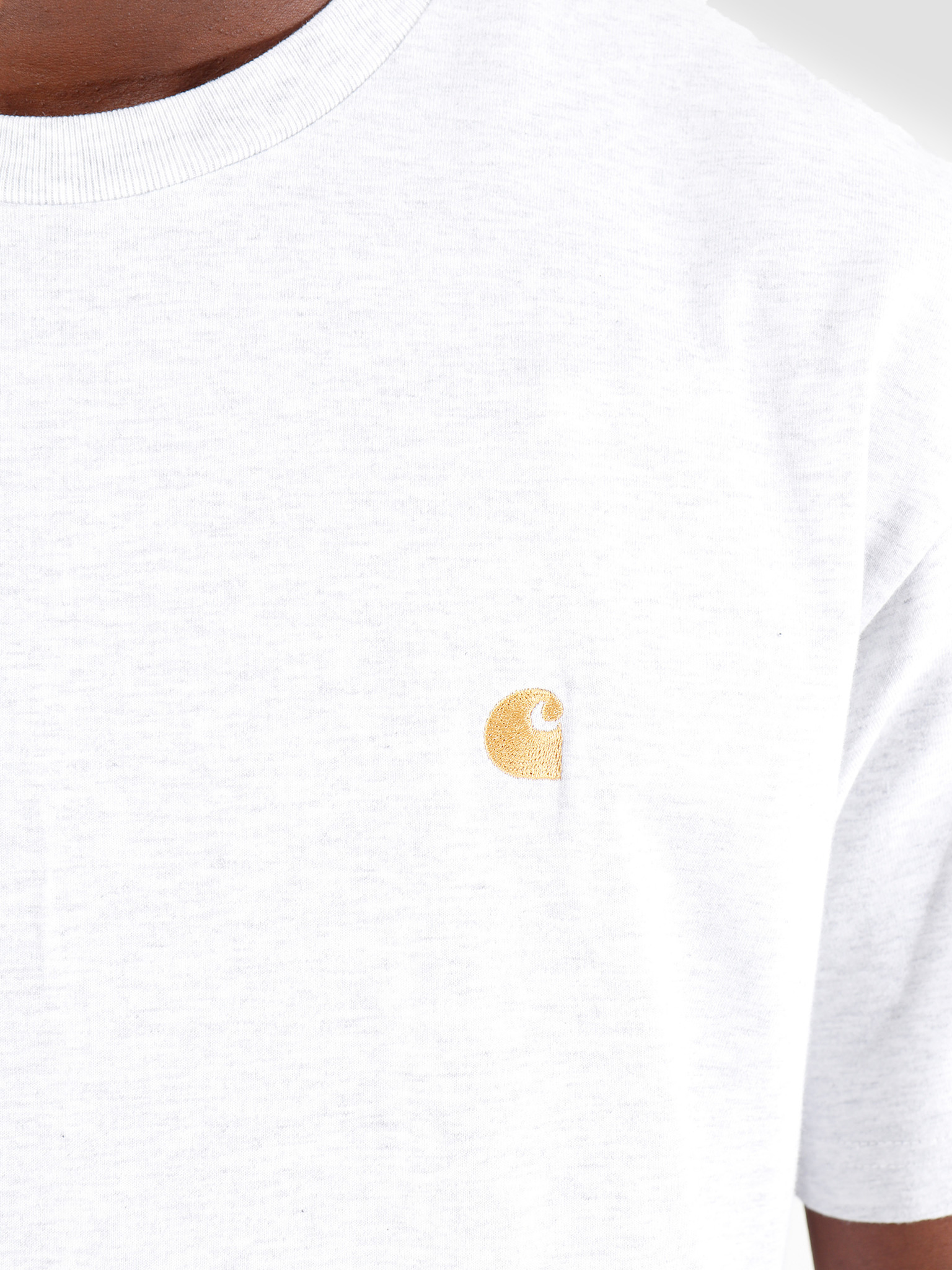 Carhartt WIP Carhartt WIP Chase T-Shirt Ash Heather Gold I026391-48290