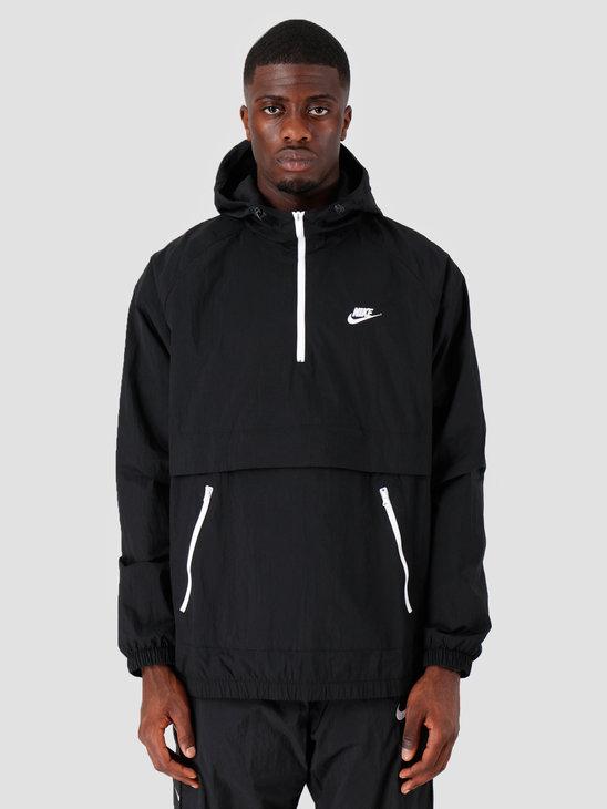 Nike NSW Ce Jkt Hd Wvn Anrk Black Black White AR2212-010