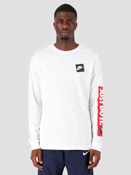 Nike NSW Longsleeve Jdi Bpr White CD9598-100