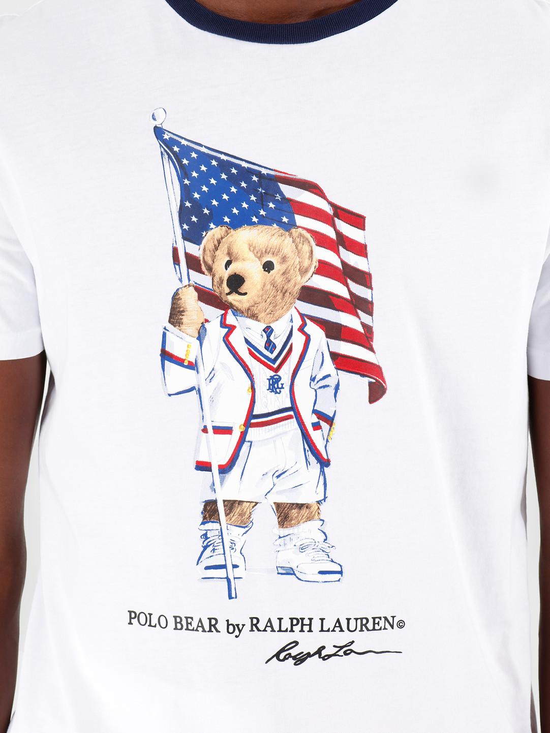 7834d4d8 Polo Ralph Lauren 26 1 Jersey Shortsleeve T-Shirt White 710755847001