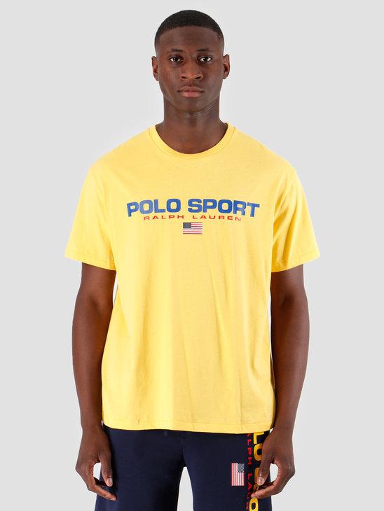 Ralph Lauren 26 1 Jersey Shortsleeve T-Shirt Yellow 710750444006