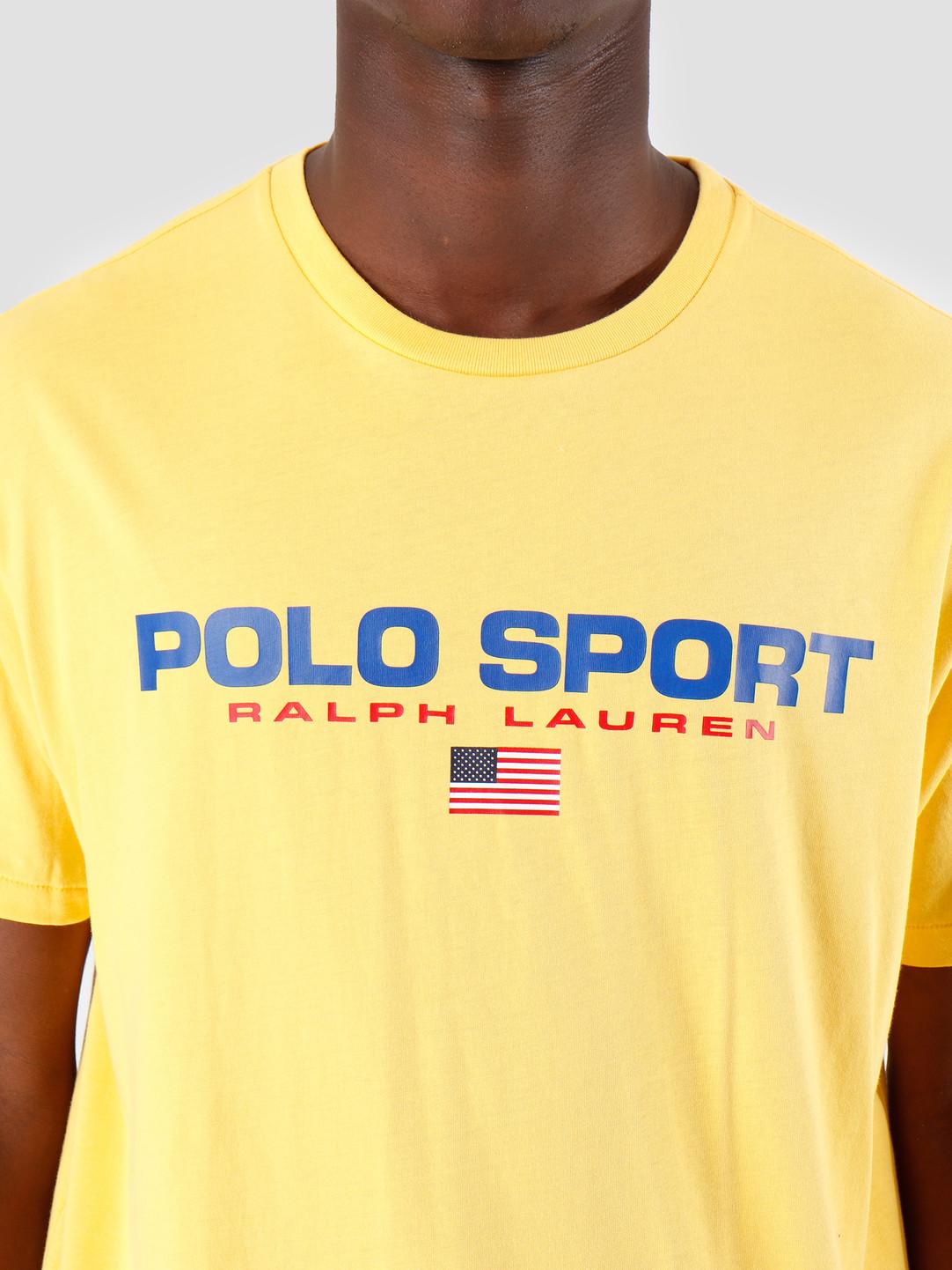 Lauren Yellow Shirt 710750444006 Shortsleeve 1 T Ralph 26 Jersey Nw8n0m