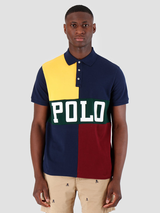 Polo Ralph Lauren Basic Mesh Shortsleeve Yellow Mu 710754056001