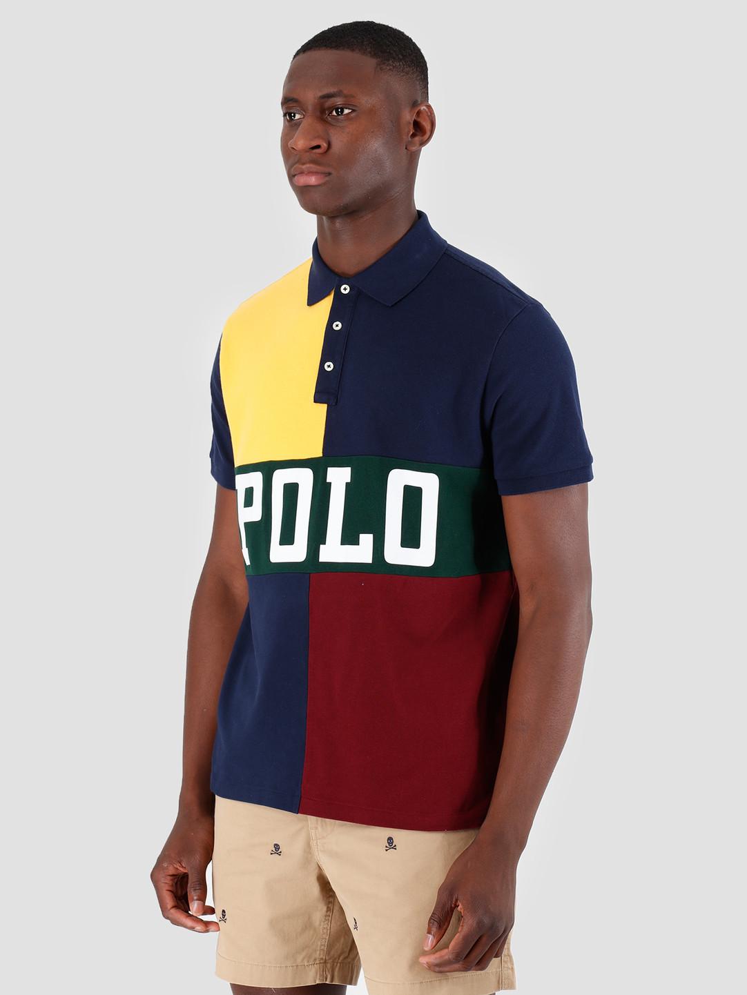 Polo Ralph Lauren Polo Ralph Lauren Basic Mesh Shortsleeve Yellow Mu 710754056001