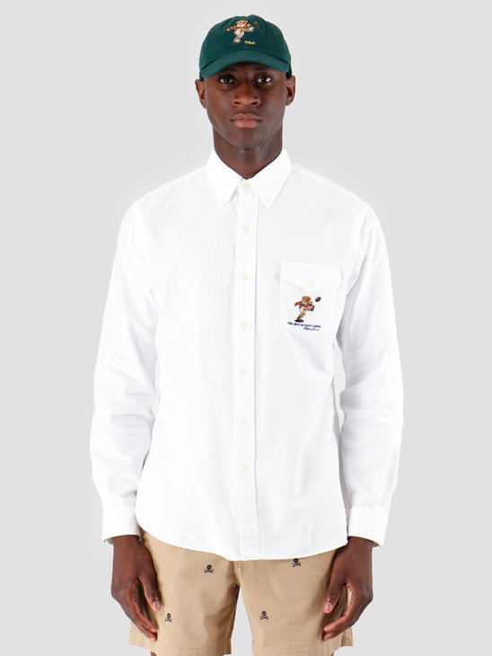 Polo Ralph Lauren Oxford Longsleeve Sport Shirt White 710761368001