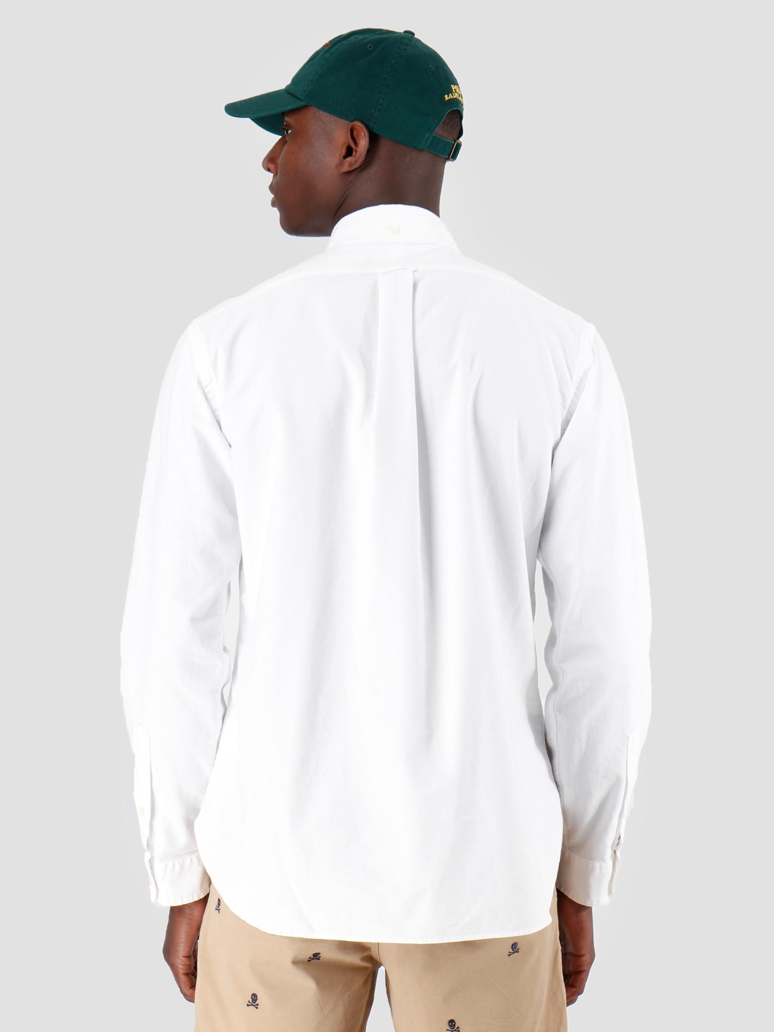 Polo Ralph Lauren Polo Ralph Lauren Oxford Longsleeve Sport Shirt White 710761368001