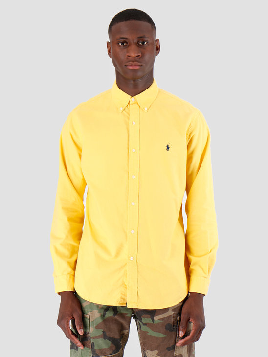 Polo Ralph Lauren Oxford Longsleeve Sport Shirt Gold 710758082005