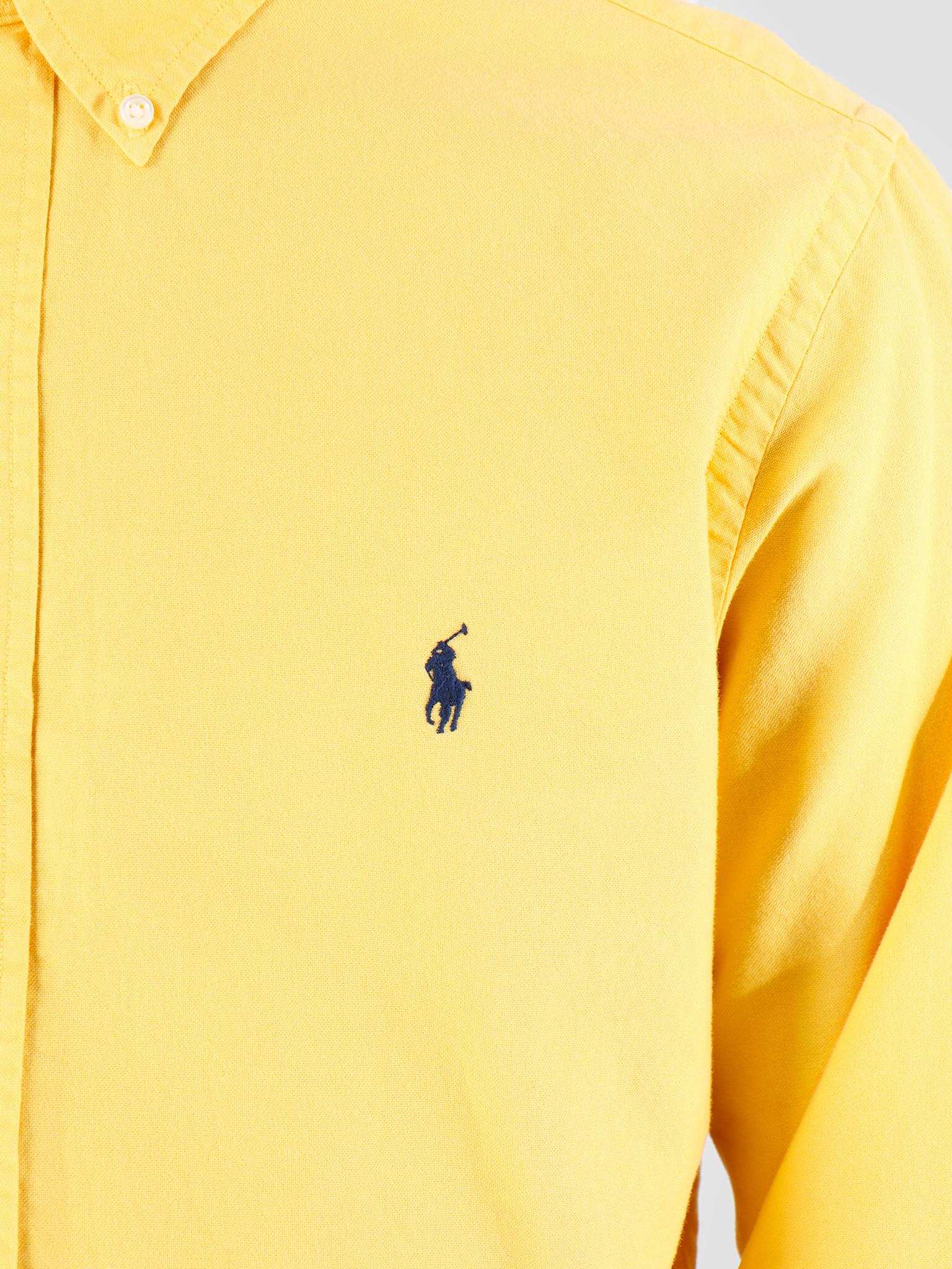 Polo Ralph Lauren Polo Ralph Lauren Oxford Longsleeve Sport Shirt Gold 710758082005
