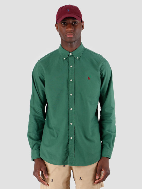 Polo Ralph Lauren Oxford Longsleeve Sport Shirt Green 710758082001