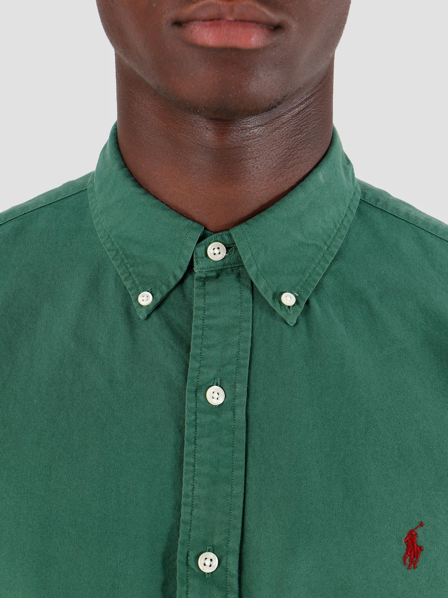 Polo Ralph Lauren Polo Ralph Lauren Oxford Longsleeve Sport Shirt Green 710758082001