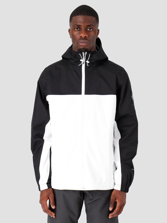 The North Face Mountain Q Jacket Black White Reflective T0CR3QFV3