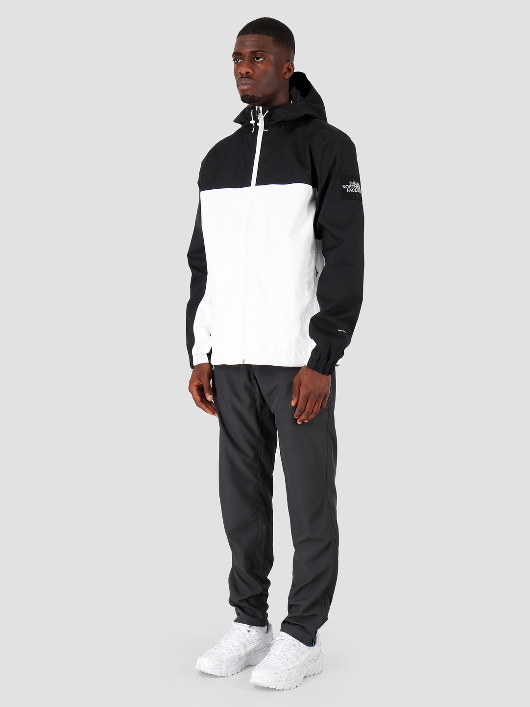 The North Face The North Face Mountain Q Jacket Black White Reflective T0CR3QFV3