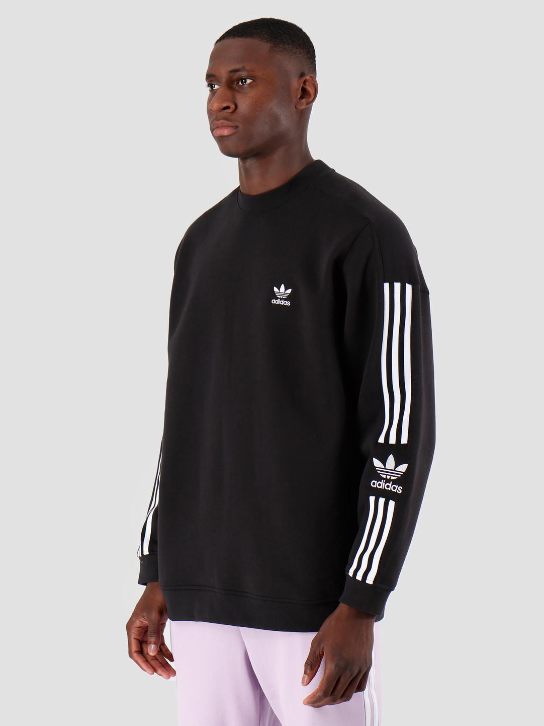 adidas adidas Tech Crewneck Black ED6121