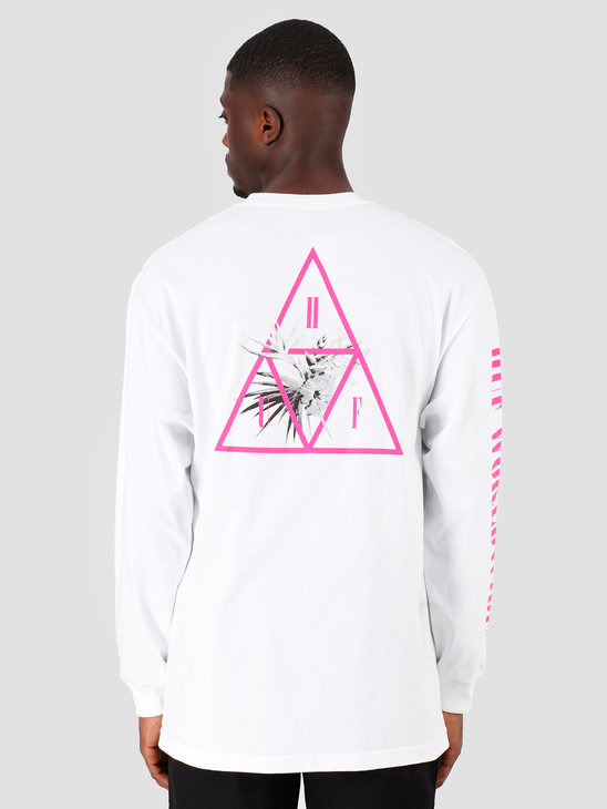HUF Jungle TT Longsleeve White TS00707