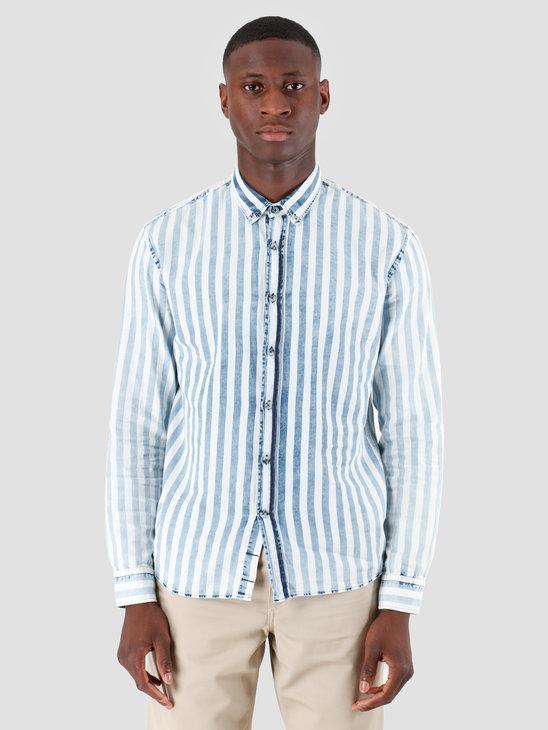 Kronstadt Johan Gr.67 Shirt Indigo White KS2648