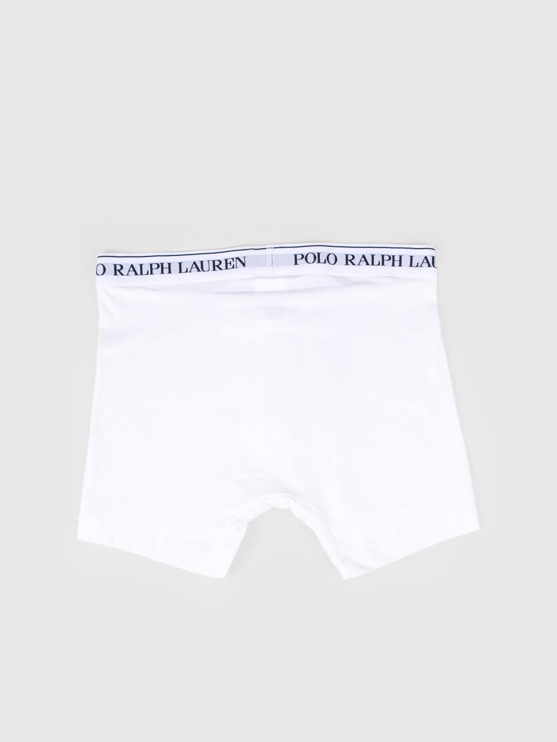 Polo Ralph Lauren Polo Ralph Lauren 3 Pack Boxer Brief White 714621874004