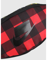 Nike Nike Heritage Hip Pack Plaid Black Black Gunsoke BA6604-010