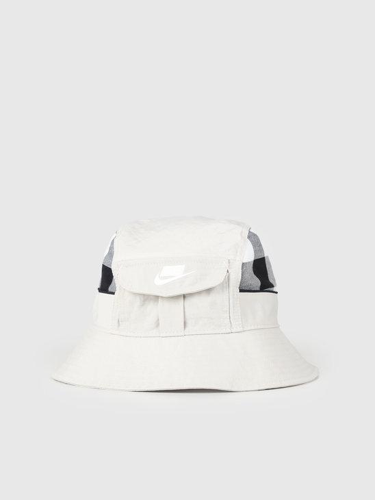Nike NSW Bucket Cap Dy Light Bone CI3318-072